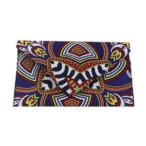 Handbags - African Print Envelope Clutch - Medallion